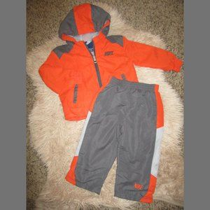 Boys 18 M Nike Pants & Jacket Track Suit Outfit